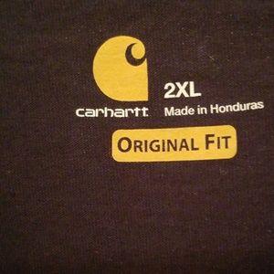 Carhartt Shirts - NWT CARHARTT short sleeve Navy Blue Pocket T-shirt